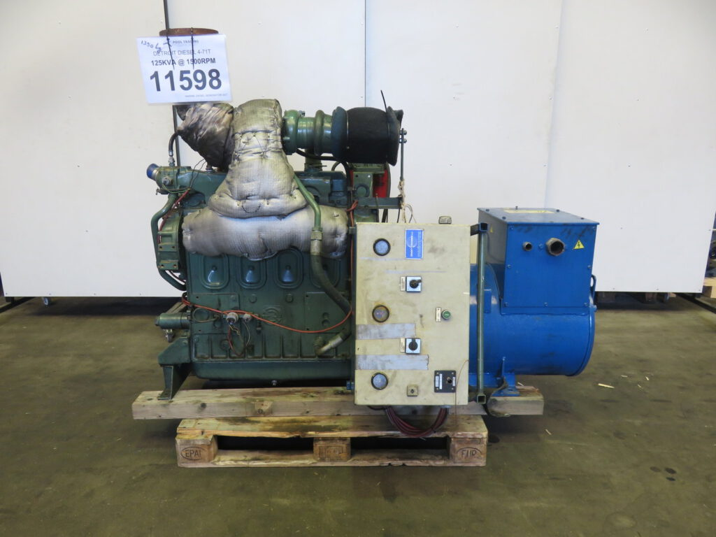 Investing in a Used Generator Set